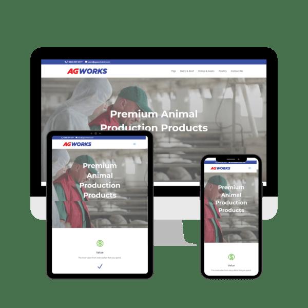 Agworks USA website