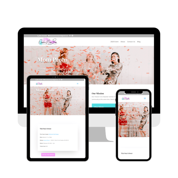 Omaha Mom Prom Website